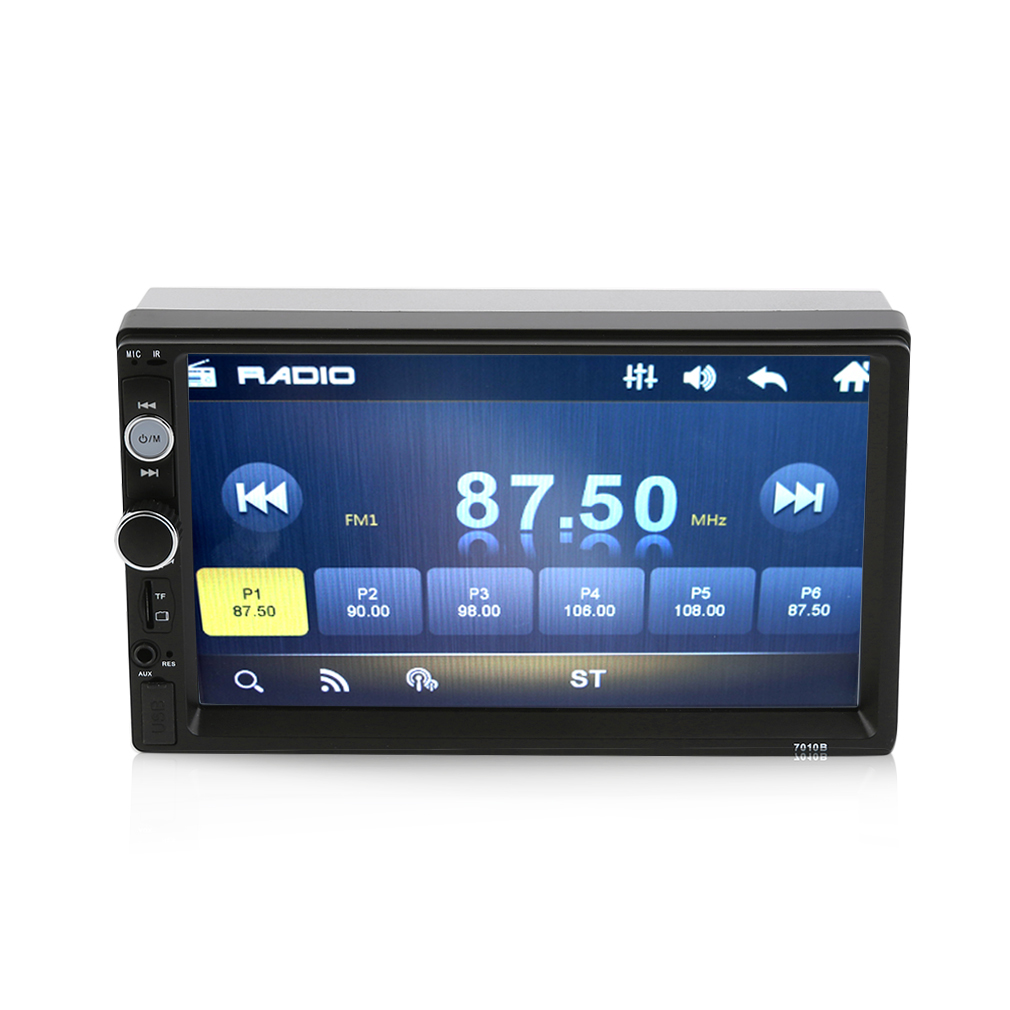 "7"" Double 2 DIN Car Radio Audio In-Dash Stereo MP5 GPS USB Player WiFi"