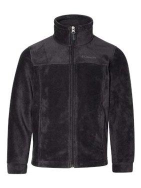 Columbia Boys' Steens Mountain Fleece Jacket (Mountain Red, 2XS)