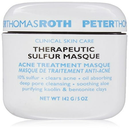 Peter Thomas Roth Theraputic Sulfur Face Mask, 5.0 Oz (Leather Face Mask)