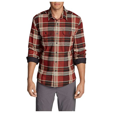 Eddie Bauer Travex Men's Expedition Flannel - Flannel Cap