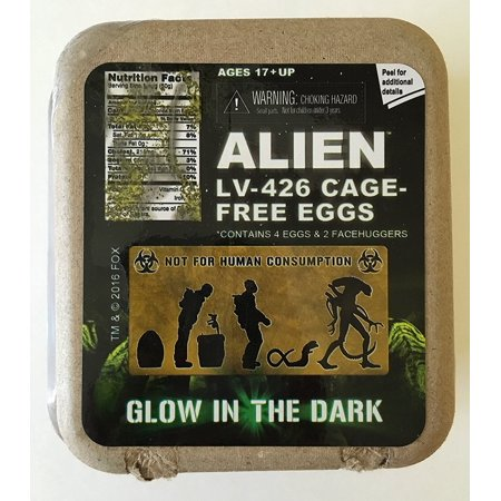 Loot Crate Alien Lv 426 Cage Free Eggs By Neca