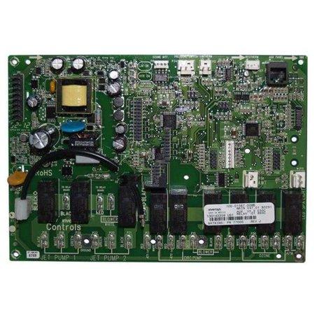 Image of Caldera Spa Advent Control System Circuit Board WAT77089 -