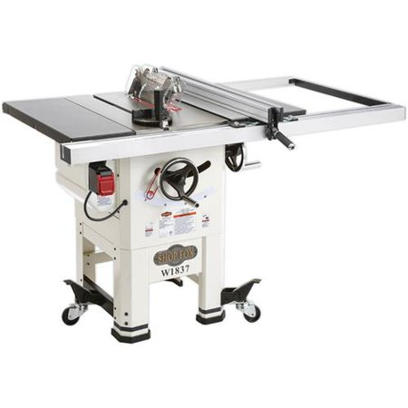 Hybrid Table Saws (Shop Fox W1837 10-Inch 2 Hp Open-Stand Hybrid Table Saw With Enclosed Cabinet)
