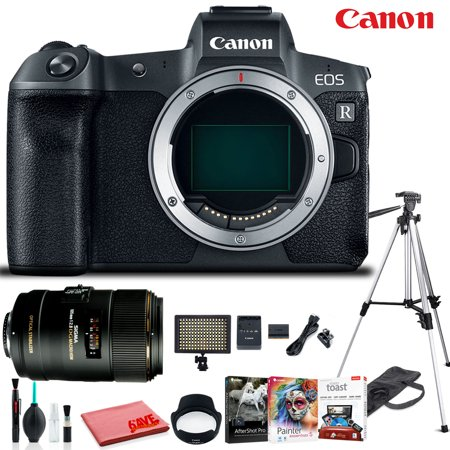 Canon EOS R Mirrorless Digital Camera (Body Only) Professional Bundle (Digital Professional Camera Canon)