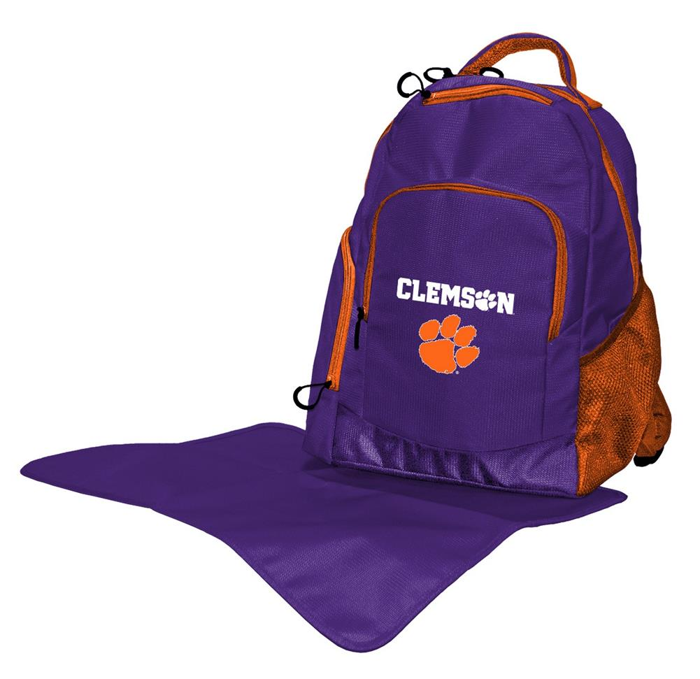 The Trainer Clemson University Tigers Diaper Bag Back Pack