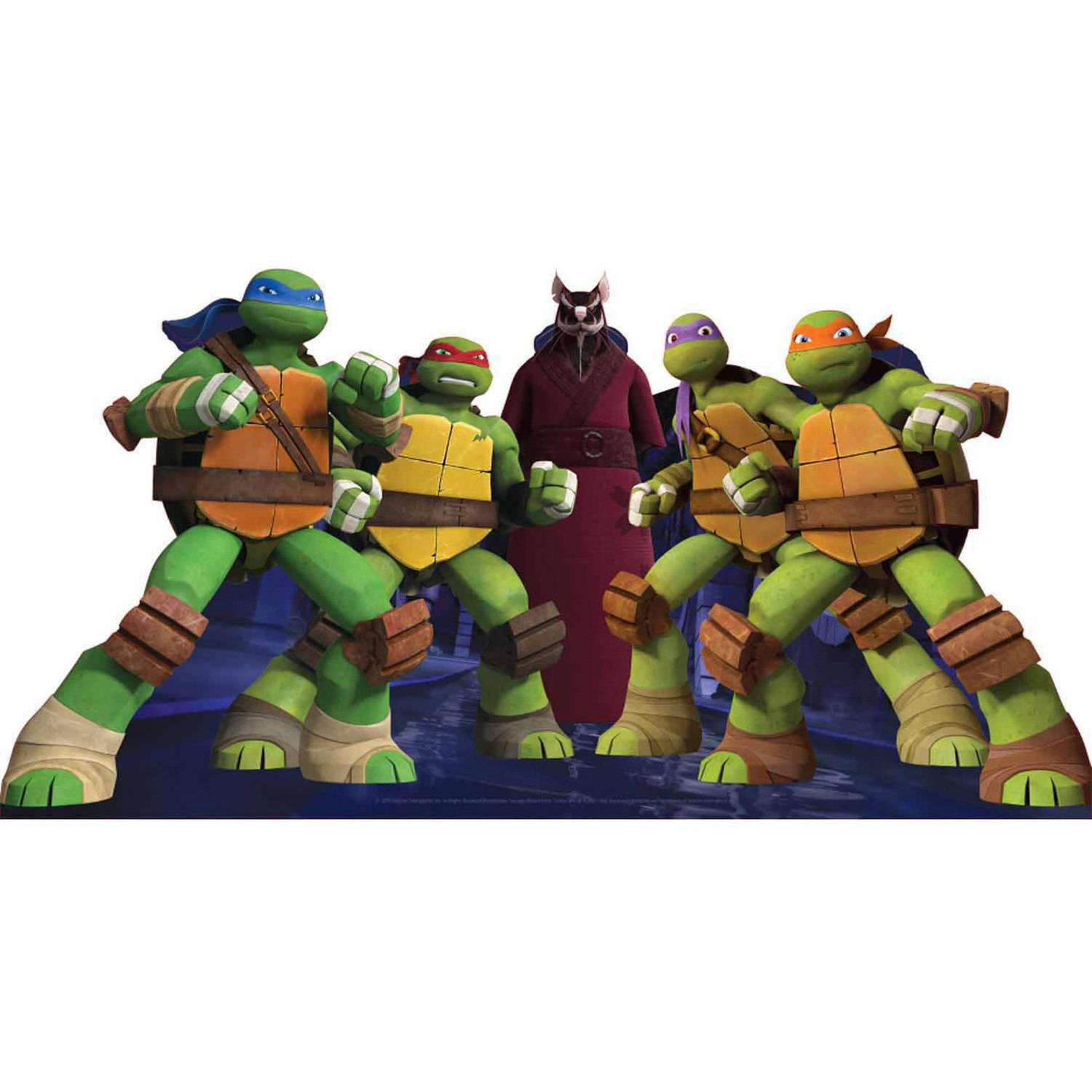Teenage Mutant Ninja Turtle Group Standee