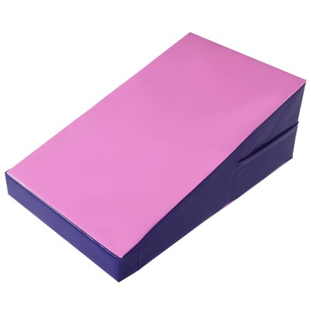 Costway Incline Gymnastics Mat Wedge Ramp Gym Skill Sports Exercise Aerobics Tumbling ()