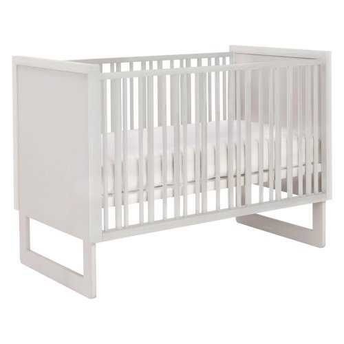 Nurseryworks Loom White Rails 3 in 1 Convertible Crib
