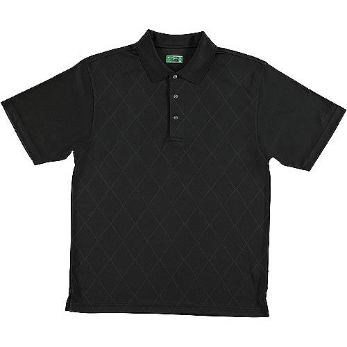Ben Hogan Men's Short Sleeve Embossed Fashion Polo