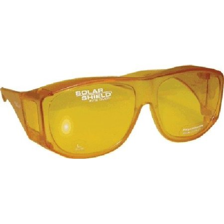 Blue Blocking | Night Vision Sun Shield Yellow Sunglass ()