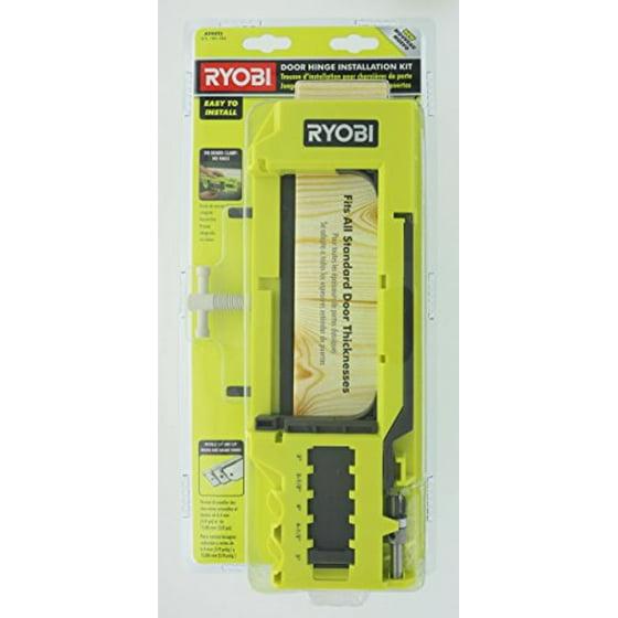 Ryobi a99ht2 door hinge installation kitmortiser template walmart maxwellsz