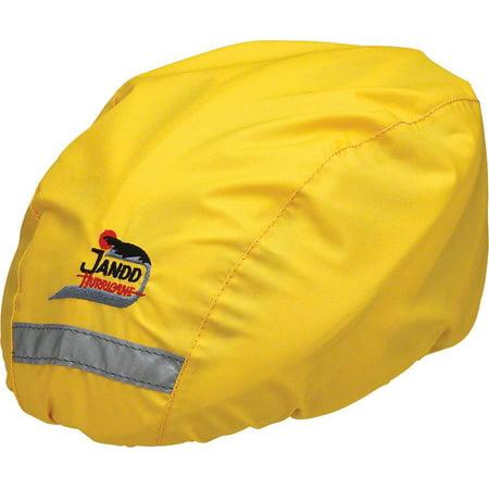 Jandd Helmet Cover Yellow, Regular Size Mental Helmet Cover