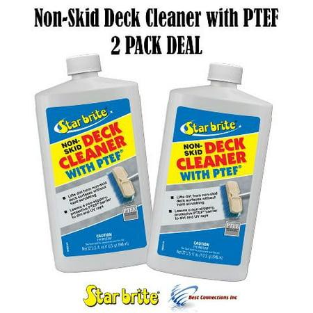 Starbrite 85932 Non-Skid Deck Cleaner W/ PTEF 32 oz (2 PACK