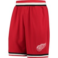 Detroit Red Wings Fanatics Branded Overtime Legacy Performance Shorts - Red