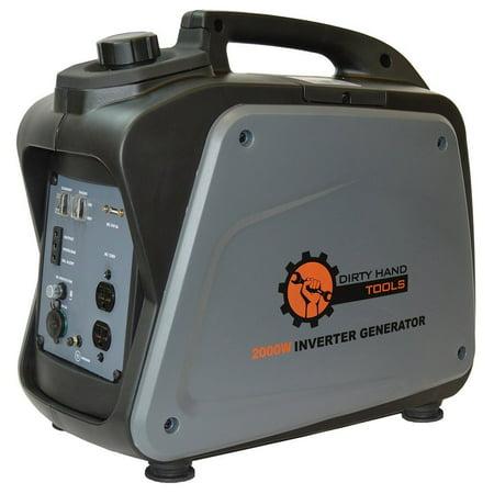 Hand Crank Power Generator - Dirty Hand Tools 2000W Gas Powered Inverter Generator