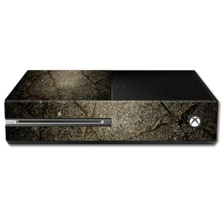 MightySkins protector vinilo piel etiqueta para la etiqueta engomada de cubierta de abrigo Microsoft Xbox una consola caso pieles agrietado + xbox en Veo y Compro