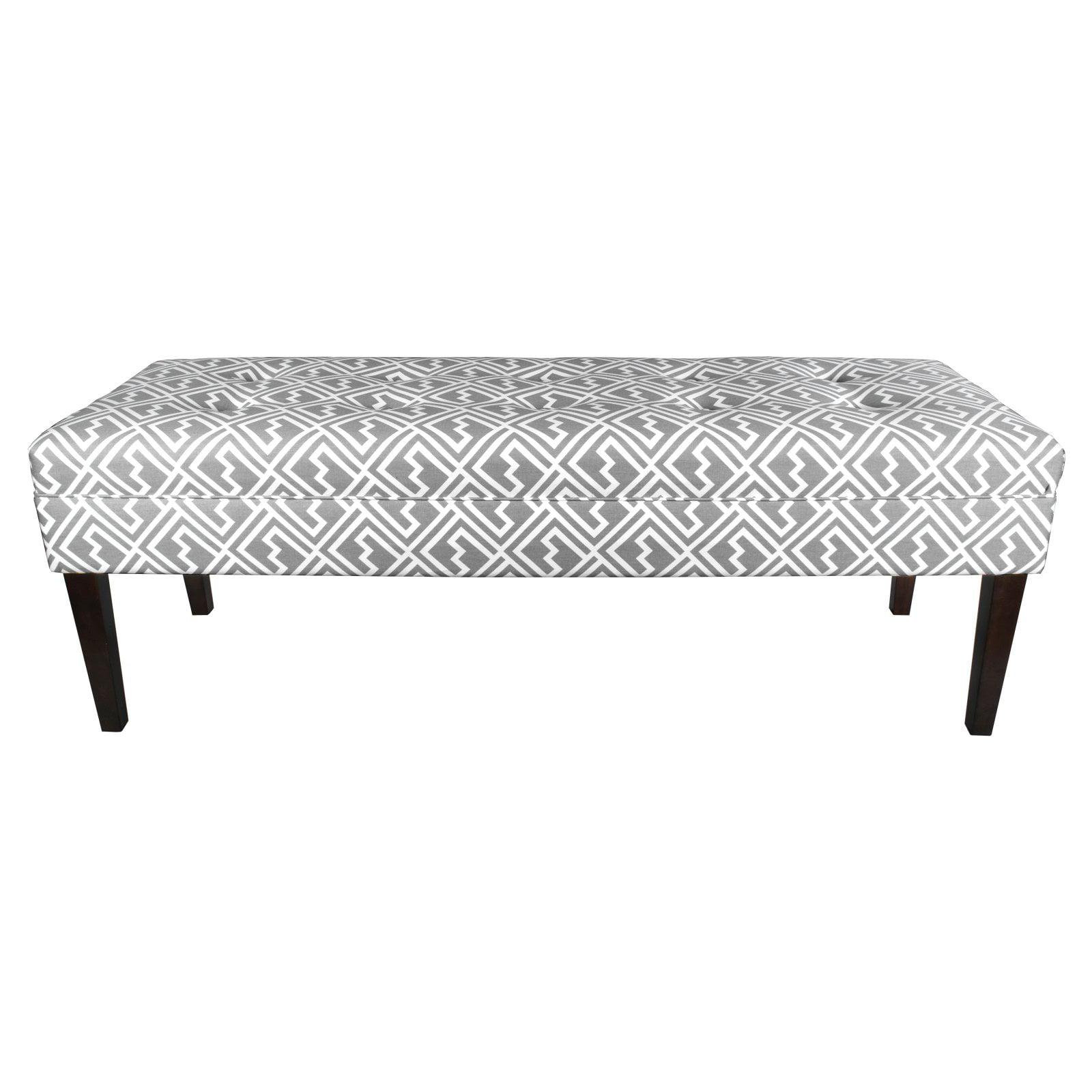 MJL Designs Kaya Fabric Bench