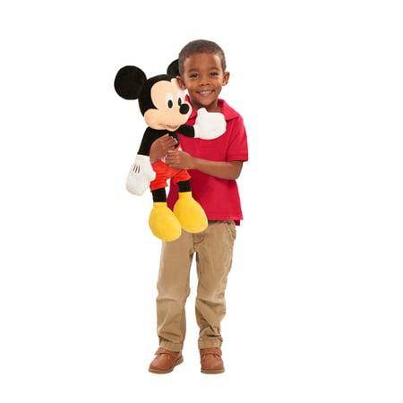 Disney Junior- Mickey Mouse Jumbo Plush Mickey Genuine Disney Mickey Mouse