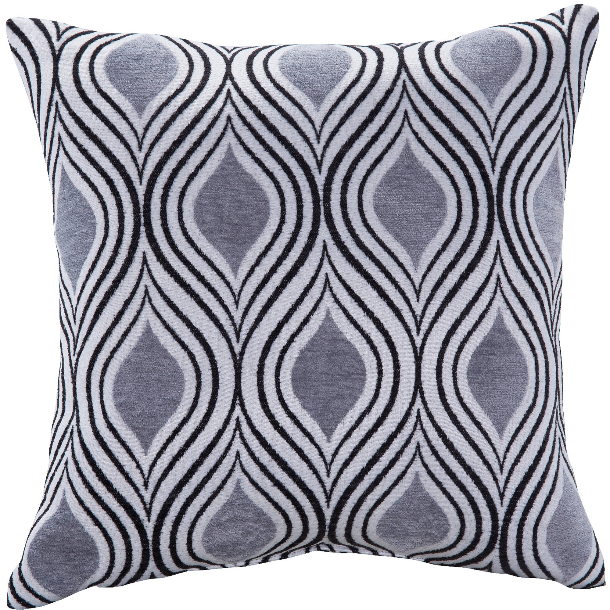 Better Homes and Gardens Moroccan Decorative Pillow, Grey