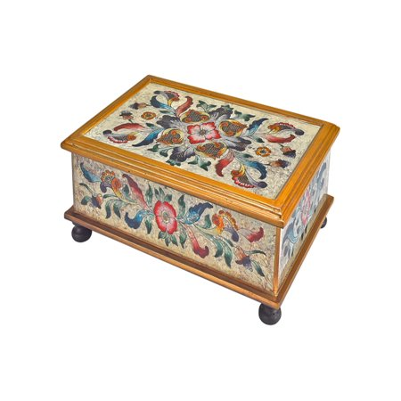 Gemstone Sand Handcrafted Keepsake Box