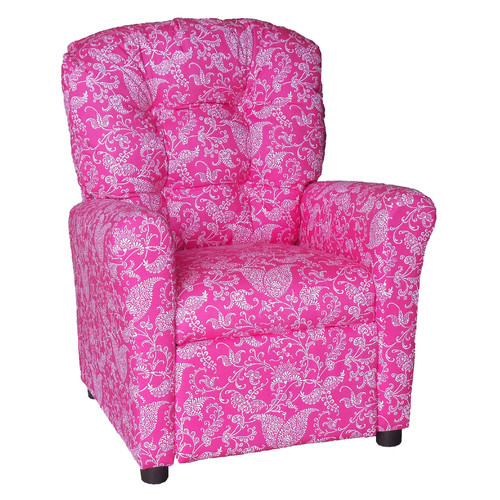 Brazil Furniture Small Paisley Kids Recliner