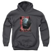 The Dark Knight Rises Fear Me Big Boys Pullover Hoodie