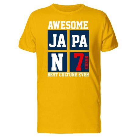Awesome Japan Best Culture Ever Tee Men's -Image by