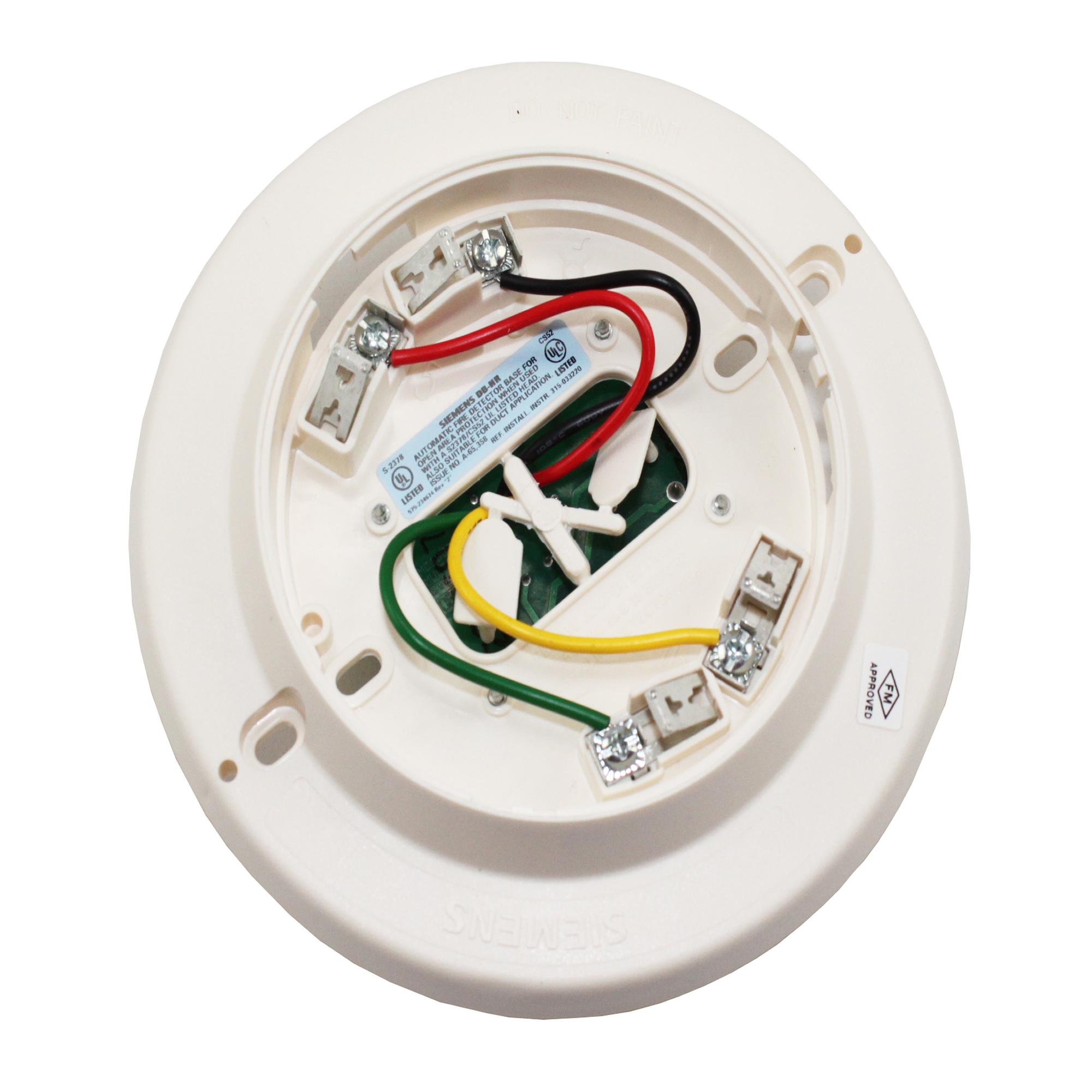 Siemens DB-HR Fire Alarm Smoke Detector Base 500-033220 -...