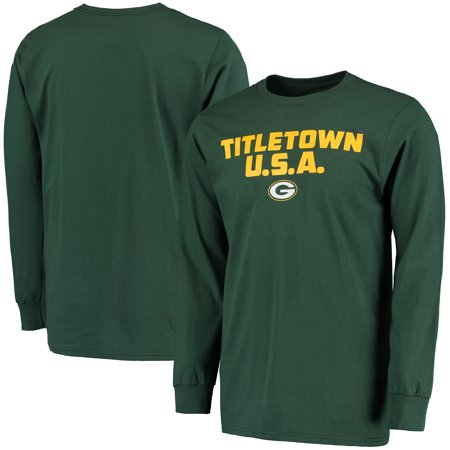 dddbed6c Majestic - Green Bay Packers Majestic Hot Phrase Long Sleeve T-Shirt ...