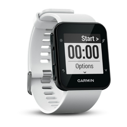 Best Gps Heart Rate Watches - Garmin Forerunner 35 White GPS Running Watch Review