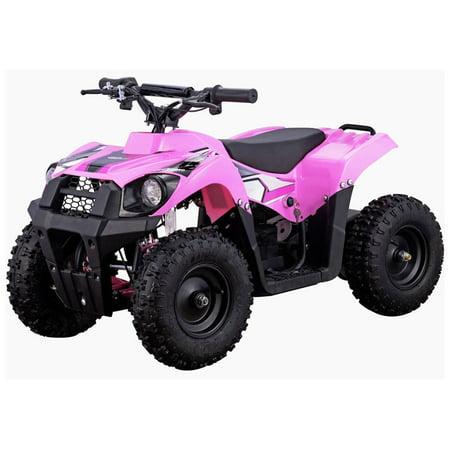 MotoTec Monster 36V 500W ATV, Pink