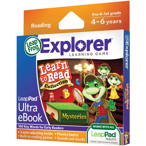 LeapFrog LeapPad Ultra eBook Learn to Read Collection: Mysteries