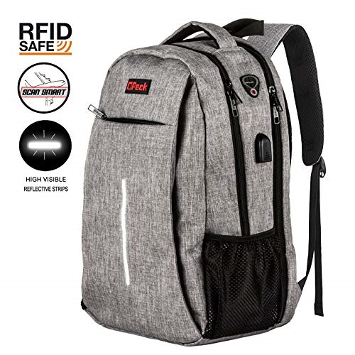 Travel Laptop Backpack Business Anti Theft Large Capacity Durable Laptops Backpack Water Resistant College School Computer Bag for Women /& Men Fits 15.6 Inch Laptop Notebook