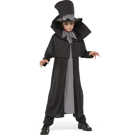 Dapper Death Boy Child Grim Reaper Ghost Ghoul Halloween Costume