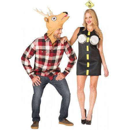 Deer In Headlights Couple Costume (Funniest Couple Costume)