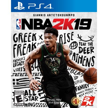 NBA 2K19, 2K, PlayStation 4, 710425570490