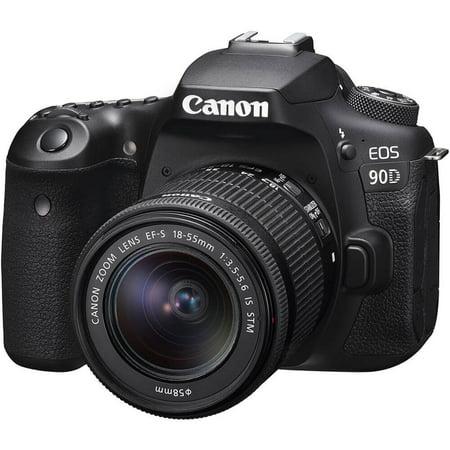 Canon EOS90DKIT EOS 90D DSLR Camera with 18-55mm Lens