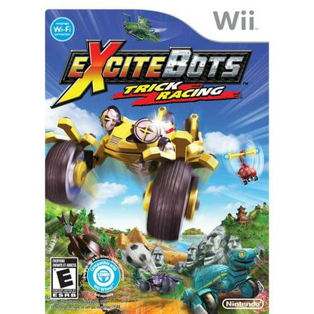 Excitebots  Trick Racing  Wii