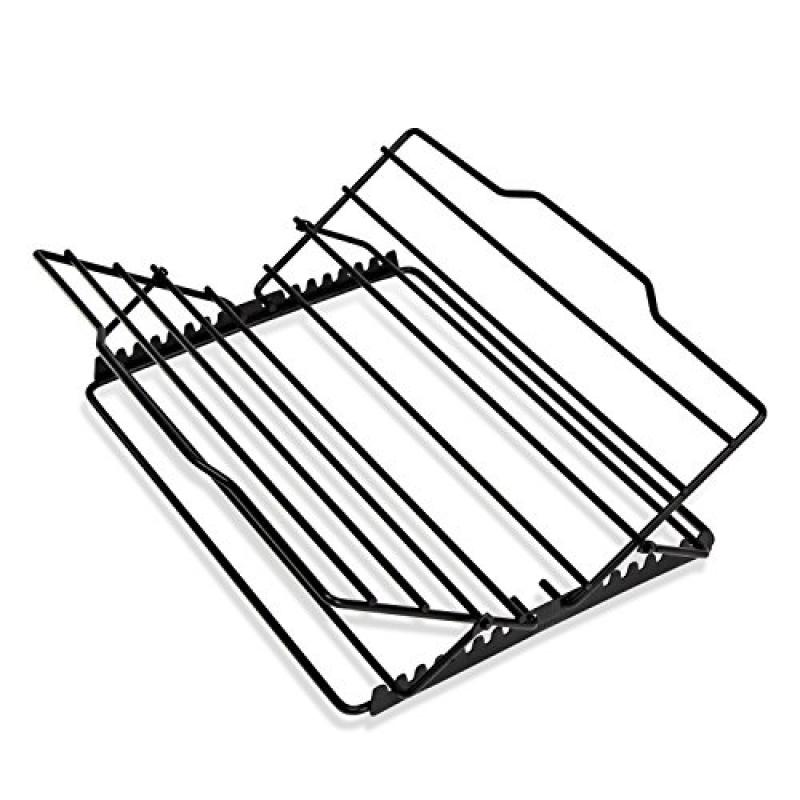 Click here to buy Honey-Can-Do 2555 Non-stick Adjustable Kitchen Supply Roasting Rack, 0.75-Inches H x 10.75-Inches W.