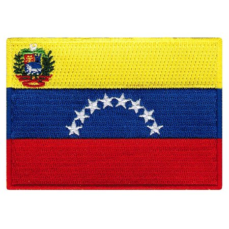 Venezuela Flag Embroidered Iron-on - Venezuela Flag Patch