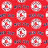 Boston Red Sox Red Cotton Fabric