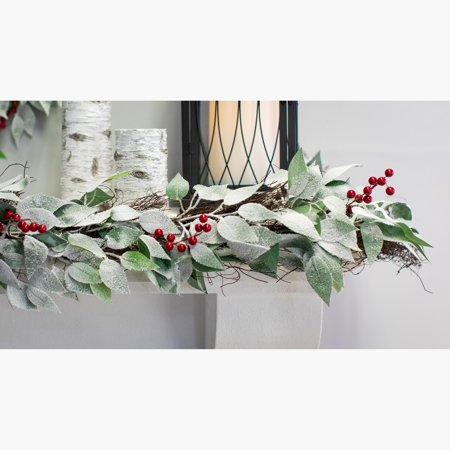 Belham Living 9foot Sierra Berry - Mantle Garland