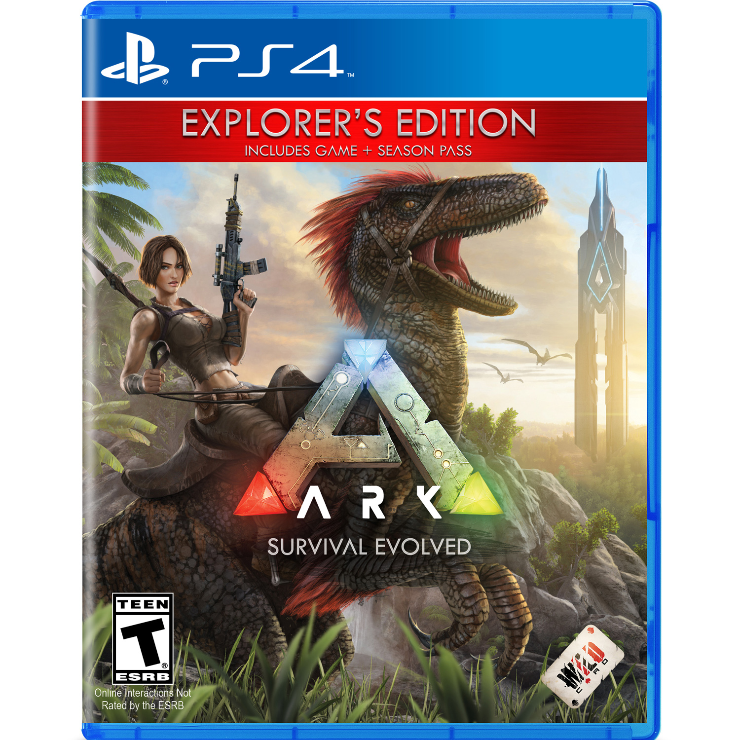 ARK Survival Evolved Explorer's Edition, Studio Wildcard, PlayStation 4, 884095178413