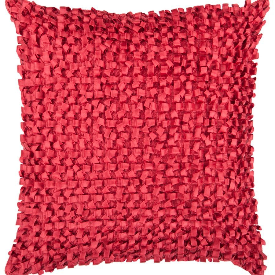 Red Ribbon Pillow BB045