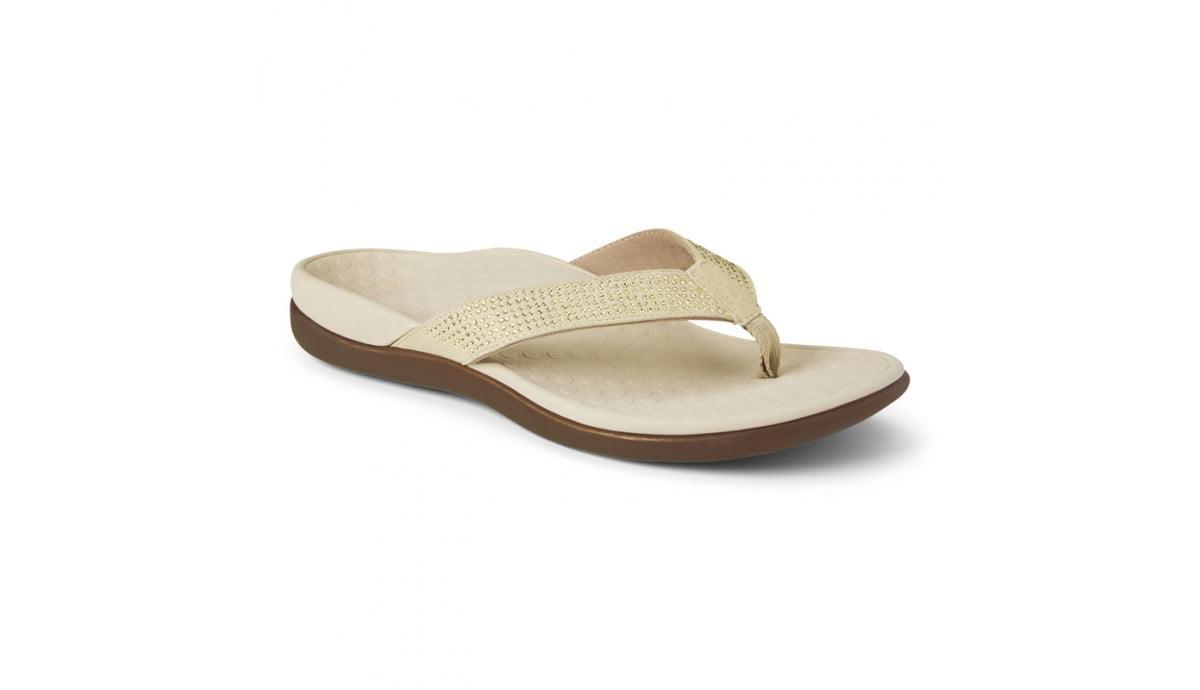 3200e7a49d178c Vionic - VIONIC Tide Rhinestones Toe Post Womens Footwear 340tiders-chpgn -  Walmart.com