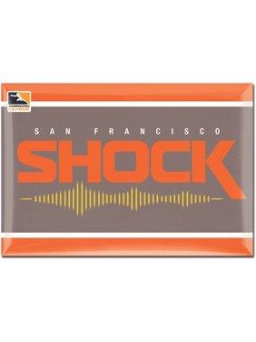 San Francisco Shock WinCraft 2'' x 3'' Magnet