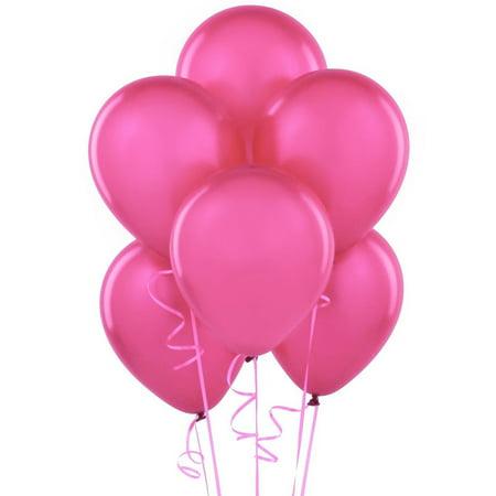 Hot Pink Latex Balloons (Latex Hat)