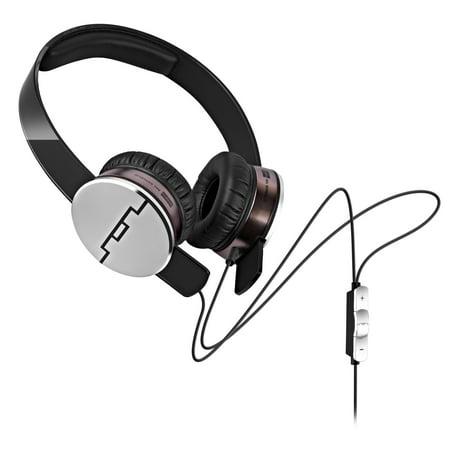 Sol Republic 1241 Tracks On-Ear Interchangeable Headphones w/ 3 Button Mic (Certified Refurbished) (Solo Republic Wireless Headphone)