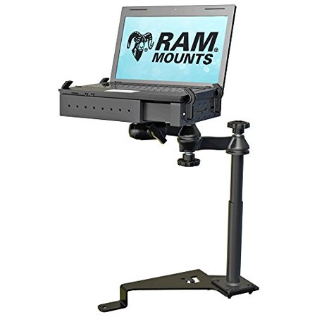 RAM No-Drill Laptop Mount for the 2015 - 2017 Ford F-150 and Transit Connect Ford F150 Computer