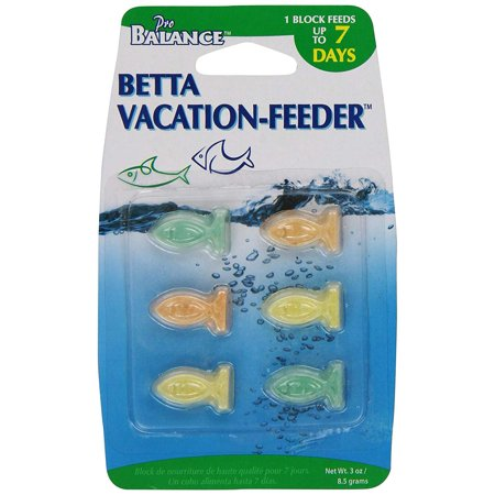Vacation Gel Feeder - Penn Plax PBV1 7-Day Vacation Fish Feeder, 7 Day, Vacation Feeder That Is The Ideal Product When You Need To Feed Your Fish While Traveling By PennPlax